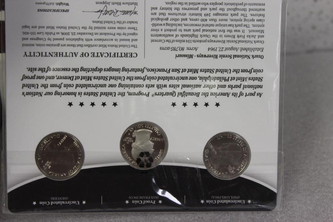 America, The Beautiful Coin Set - 5