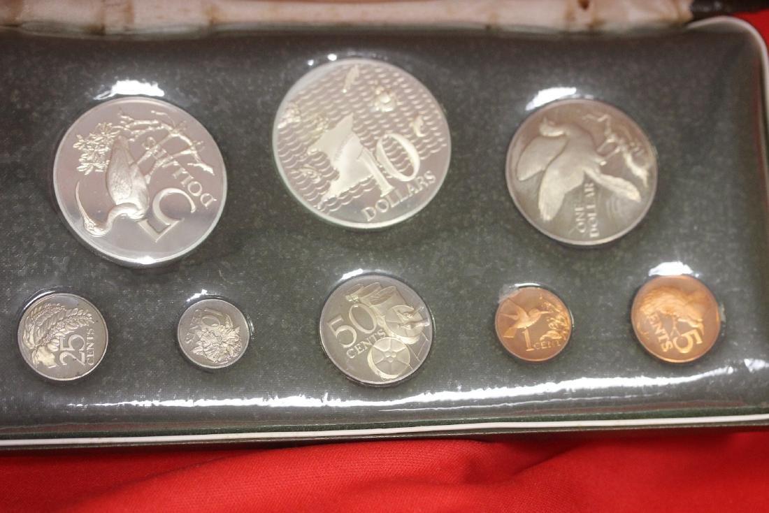A Trinidad and Tobago Eight Coin Set - 2