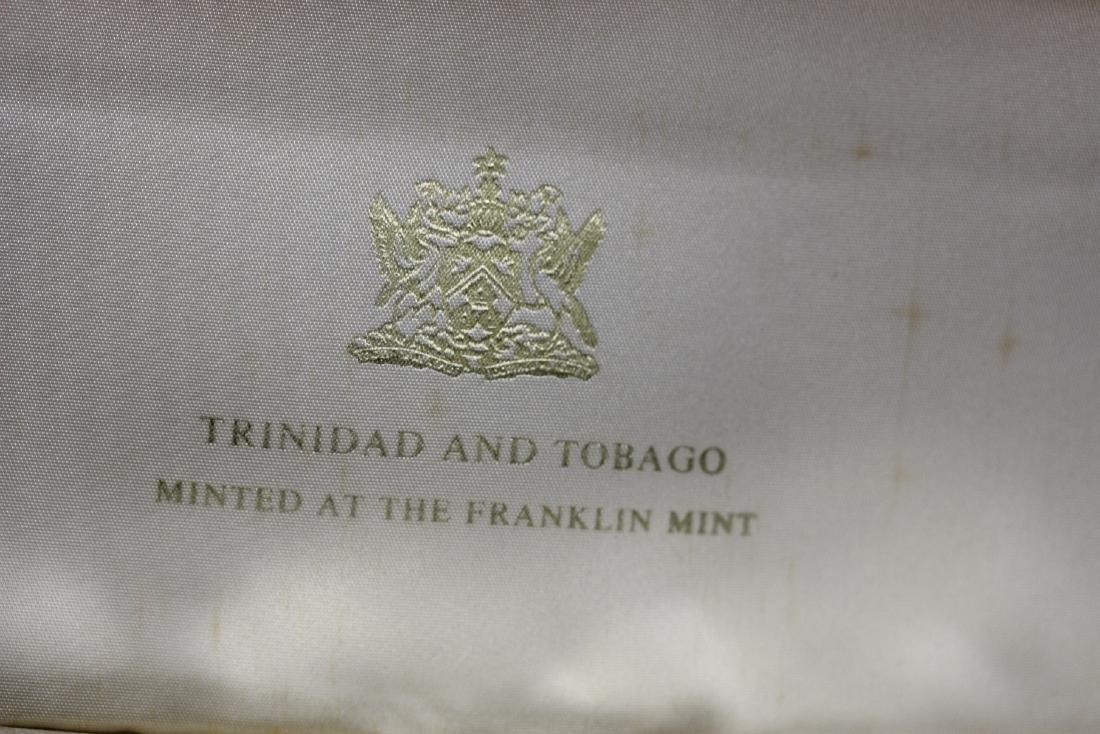 A Trinidad and Tobago Eight Coin Set - 3