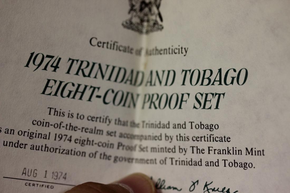 A Trinidad and Tobago Eight Coin Set - 4