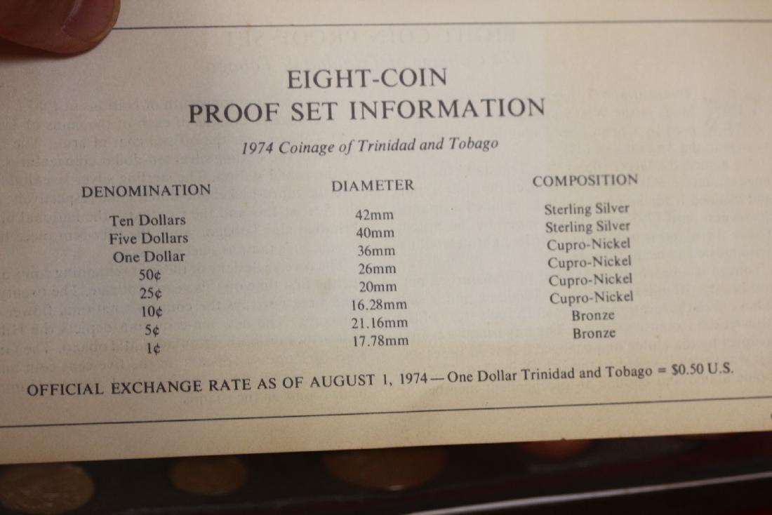 A Trinidad and Tobago Eight Coin Set - 5