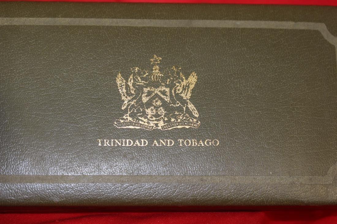 A Trinidad and Tobago Eight Coin Set - 6