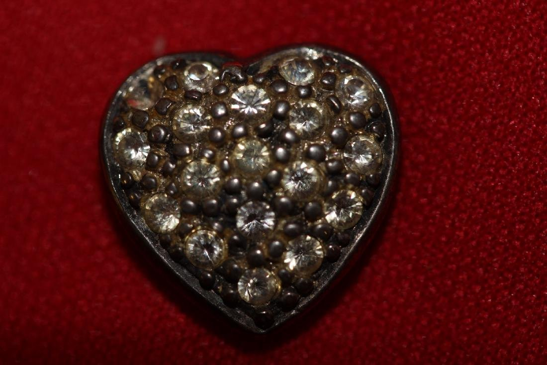 A Sterling Heart Pendant