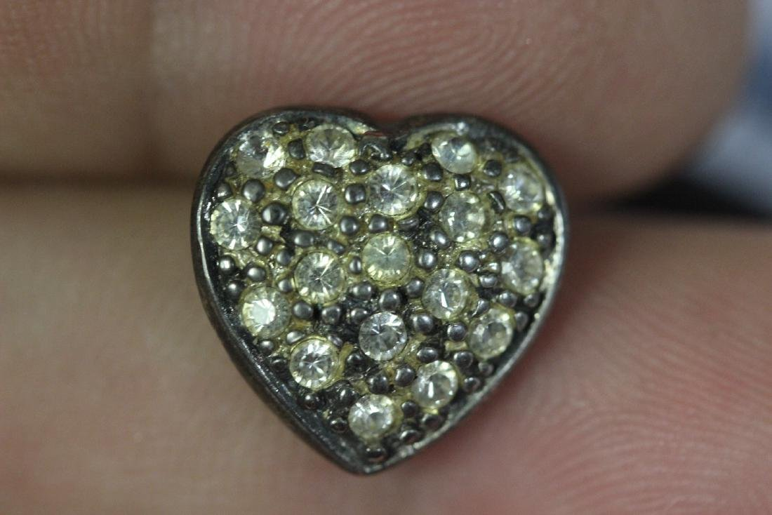 A Sterling Heart Pendant - 3