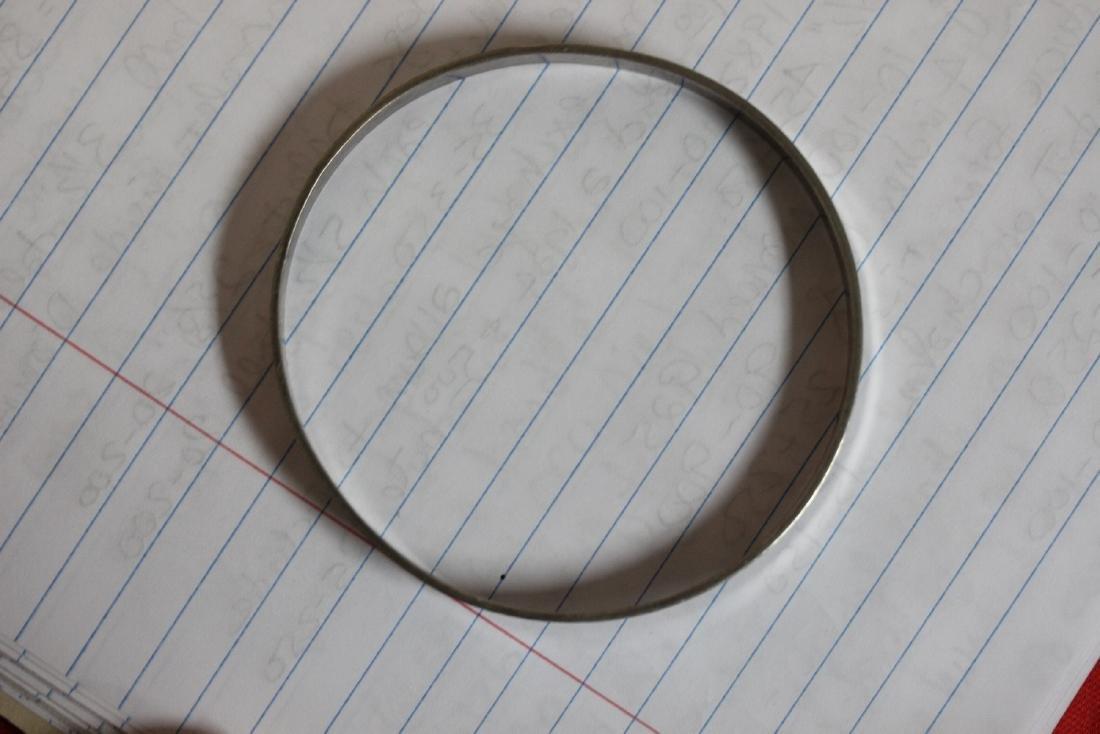 A Sterling Bangle Bracelet - 3