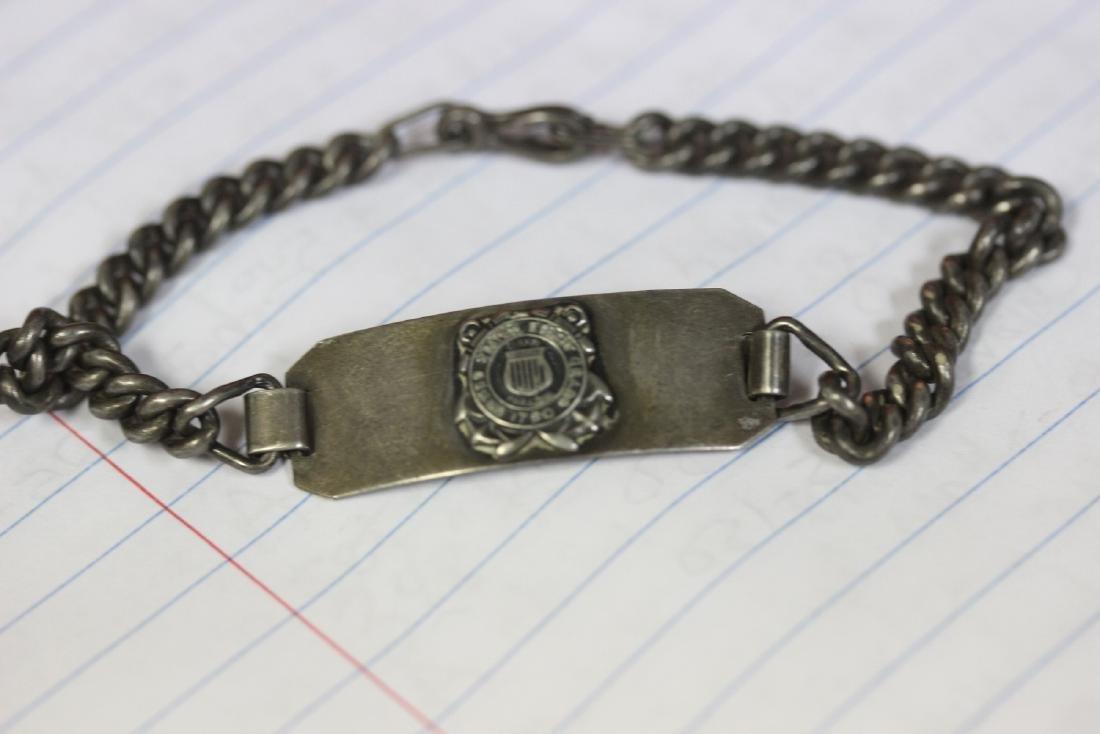 A US Coast Guard Sterling Bracelet