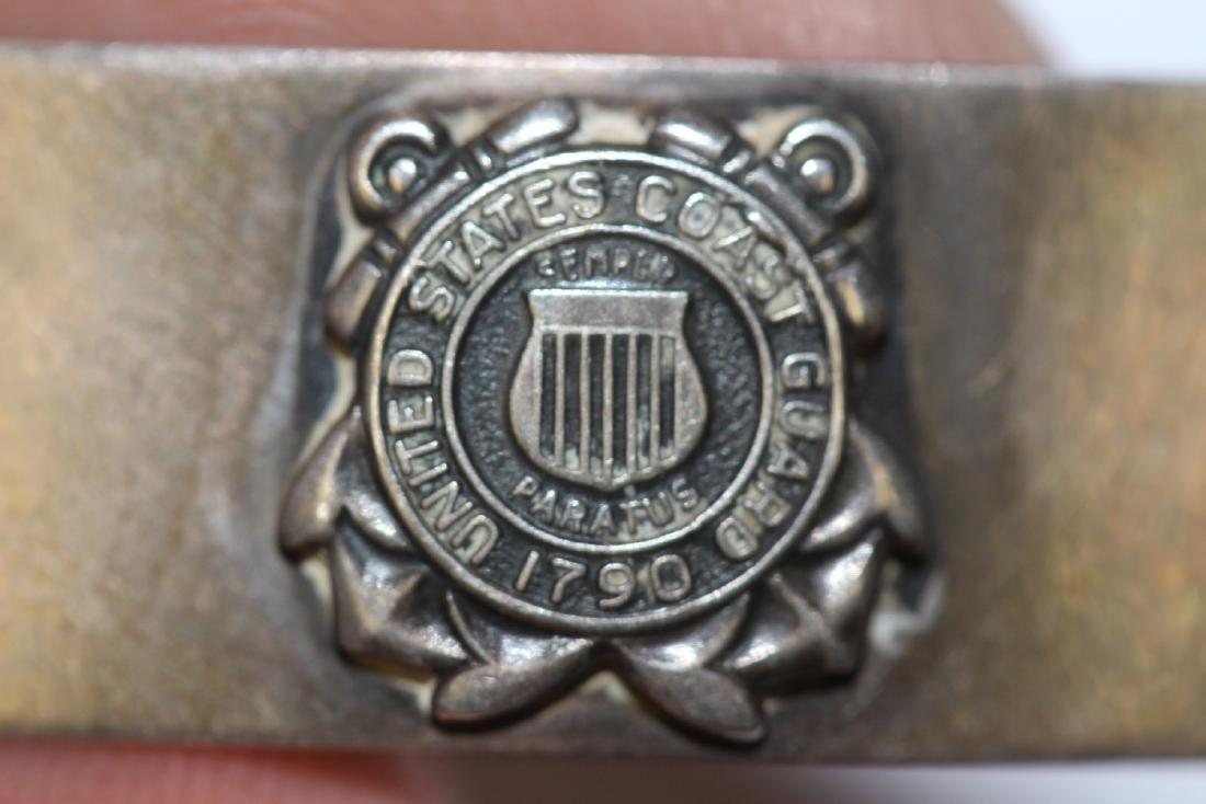 A US Coast Guard Sterling Bracelet - 2