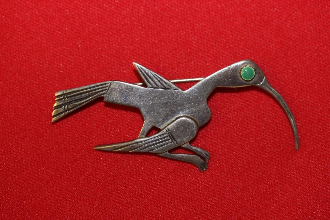 A Sterling Brooch