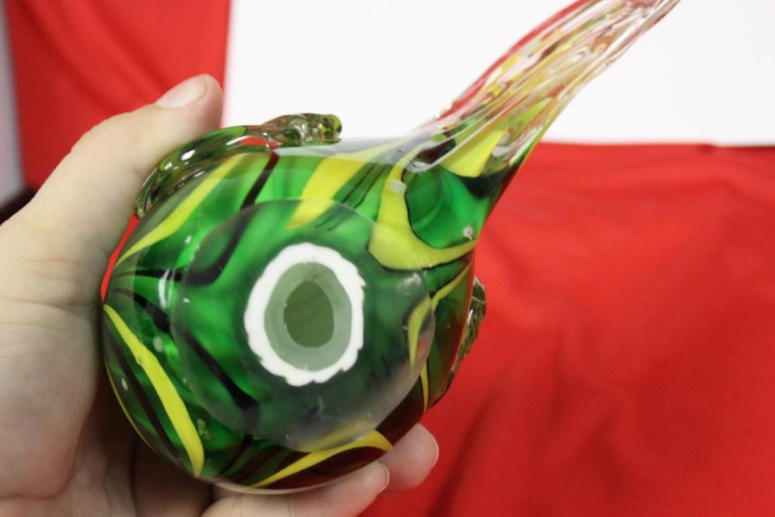 An Art Glass Rooster - 5