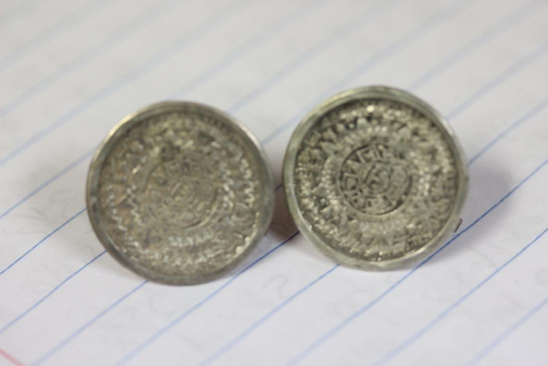 A Pair of Sterling Earrings