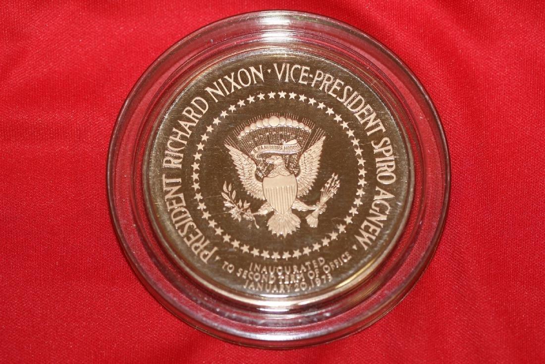 a Richard Nixon and Spiro Agnew Bronze Medal - 2