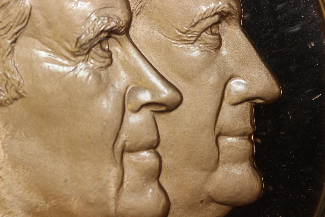 a Richard Nixon and Spiro Agnew Bronze Medal - 3