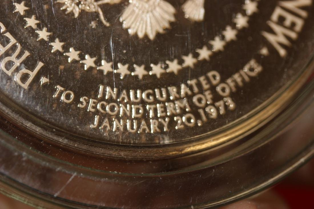 a Richard Nixon and Spiro Agnew Bronze Medal - 5