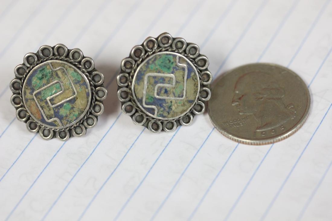 A Pair of Sterling Earrings - 4