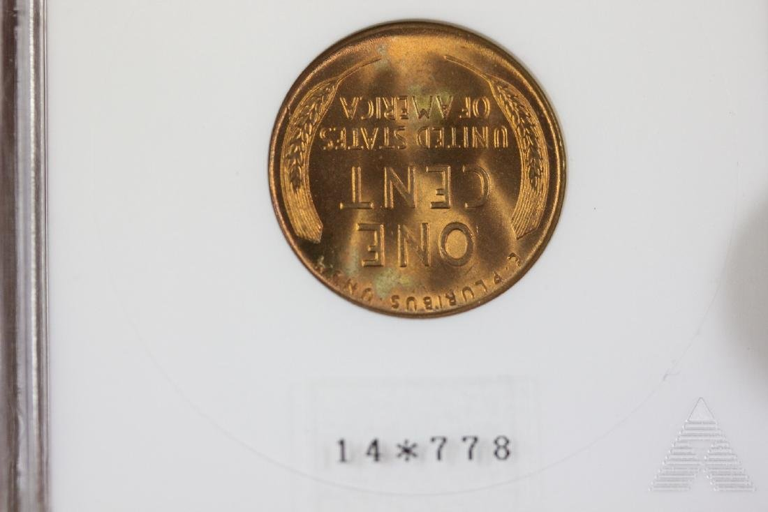 A Graded S/S 1953 Wheat Penny - 5
