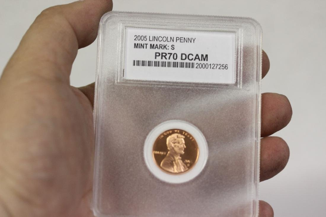A 2005 Lincoln Penny