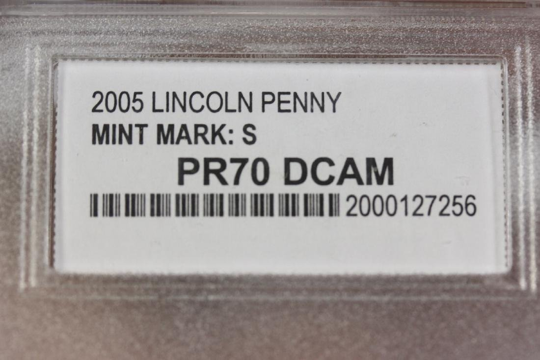 A 2005 Lincoln Penny - 6