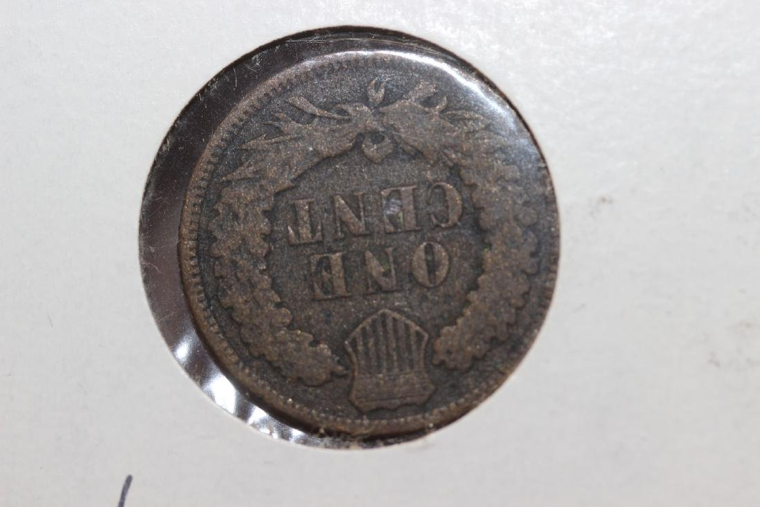 An 1874 Indian Head Cent - 2