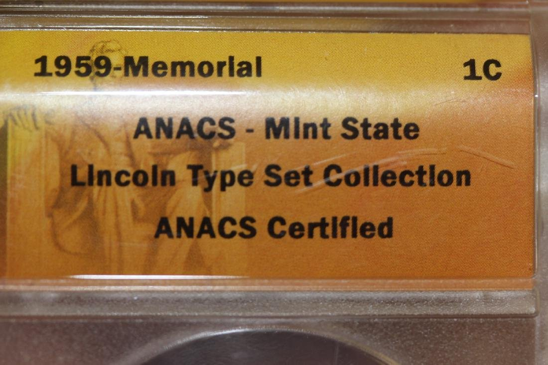 A Graded ANACS 1959 Cent - 3