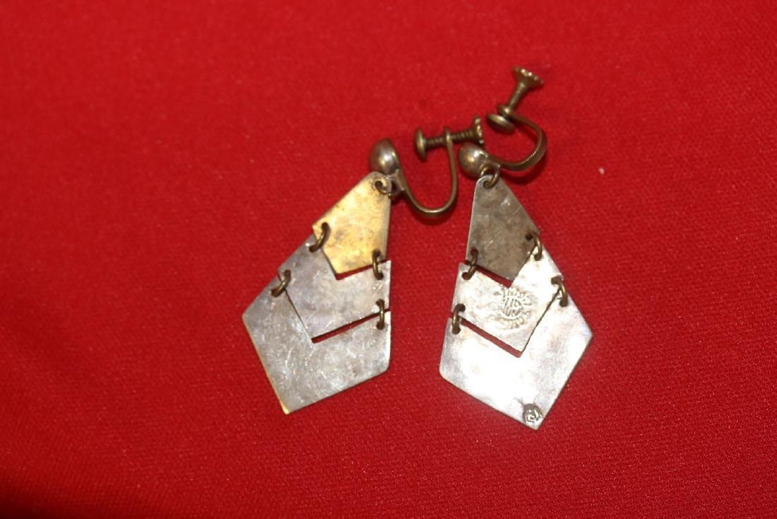 A Pair of Sterling Earrings - 2