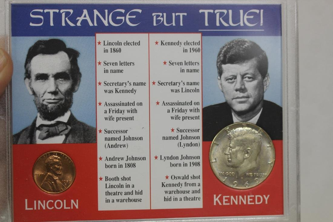 Lincoln-Kennedy Coincidence Coin Set