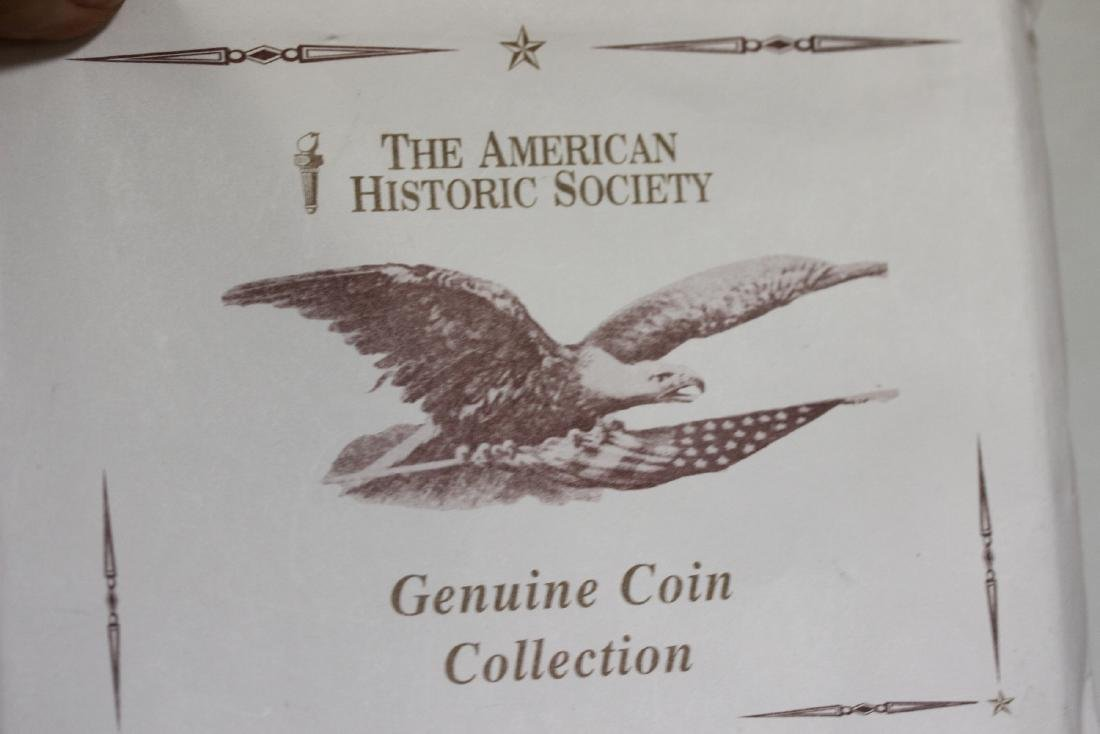 Lincoln-Kennedy Coincidence Coin Set - 4
