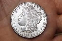 An 1896O Morgan Silver Dollar