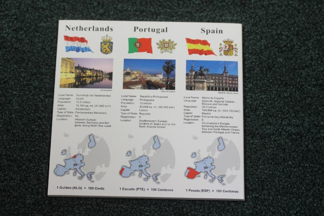 Euro-Zone Countries Coin Set - 4