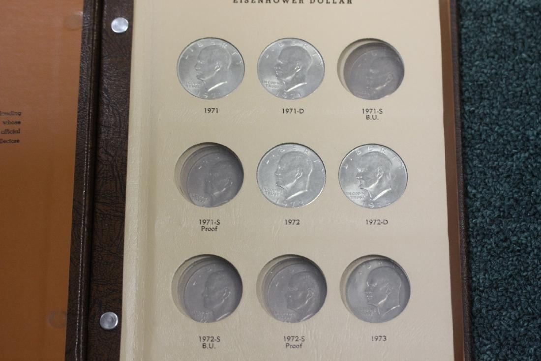 Eisenhower Dollar Binder - 2