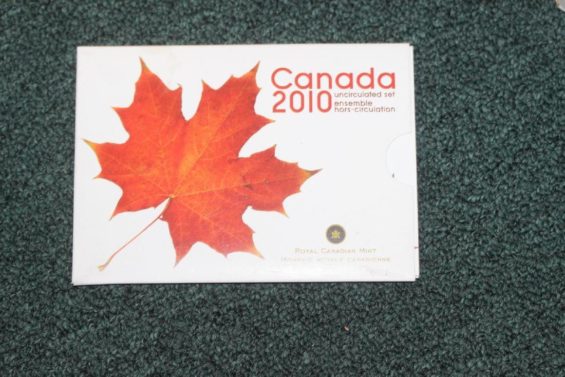 Canada 2010 Uncirculated Coin Set