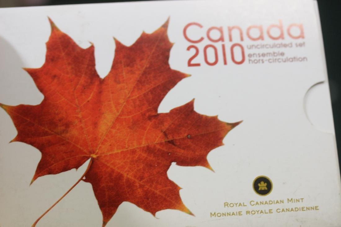 Canada 2010 Uncirculated Coin Set - 4