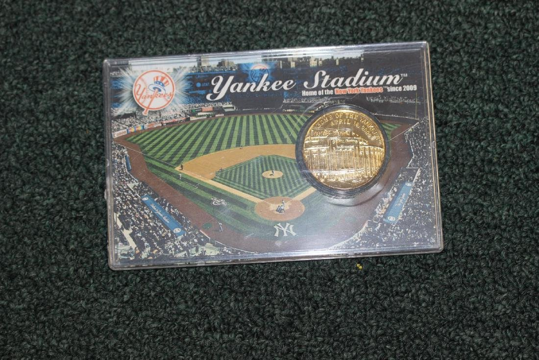 A Yankee Stadium Commemorative Coin