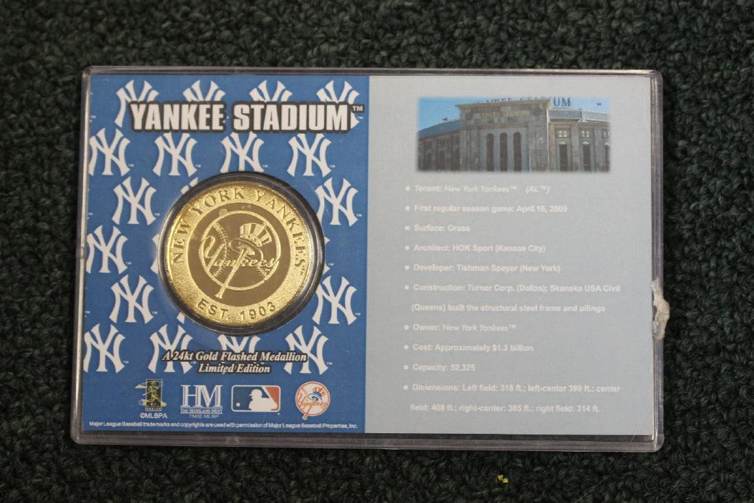 A Yankee Stadium Commemorative Coin - 2