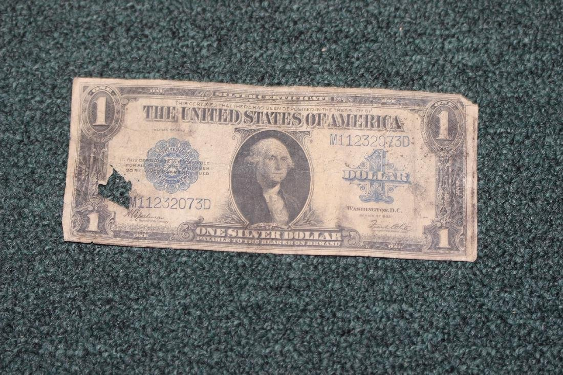 A 1923 One Dollar Note