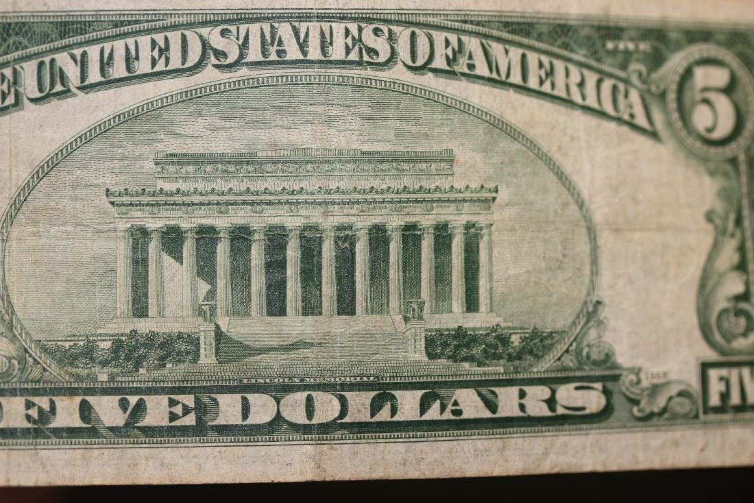 A 1934 Five Dollar Note - 7