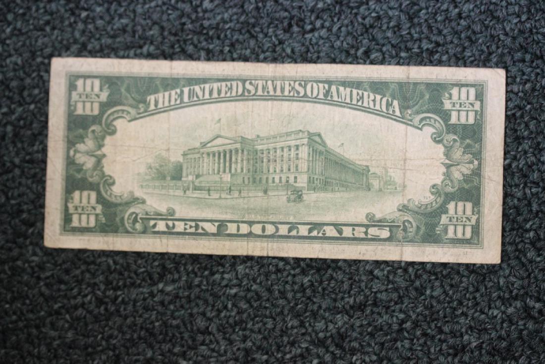 A 1934 Ten Dollar Note - 2