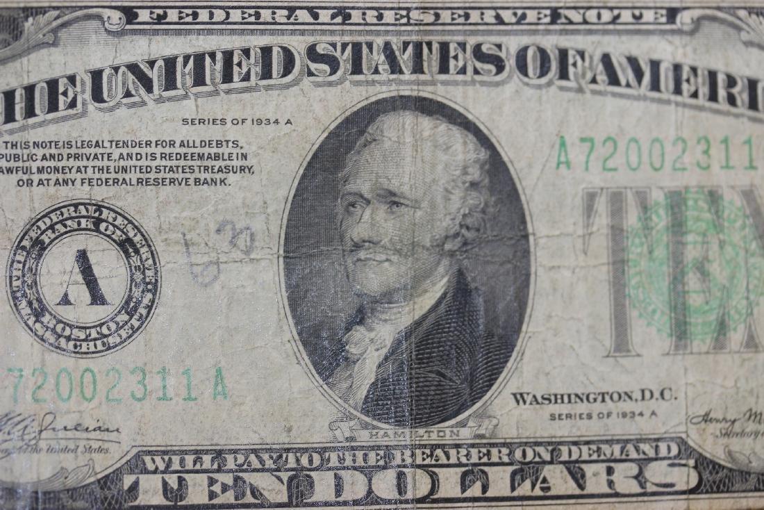 A 1934 Ten Dollar Note - 4