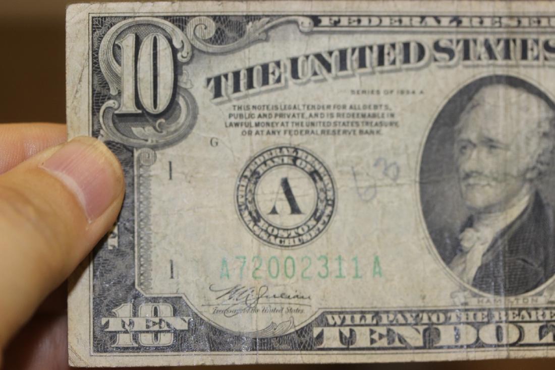 A 1934 Ten Dollar Note - 5