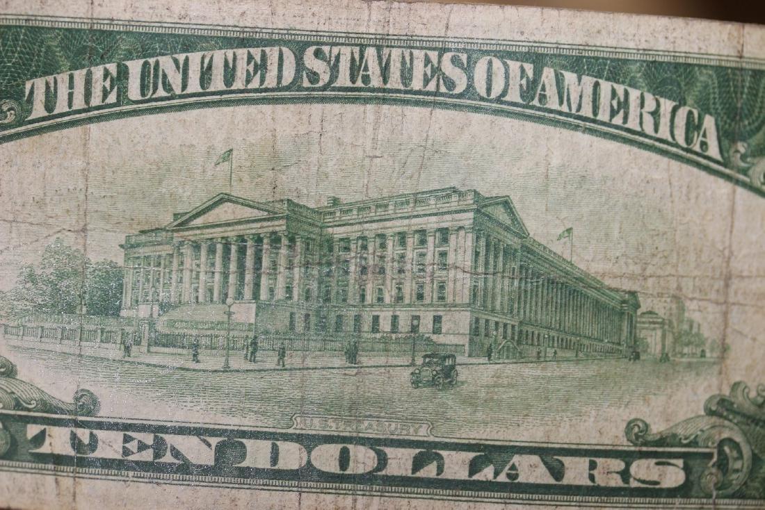 A 1934 Ten Dollar Note - 6