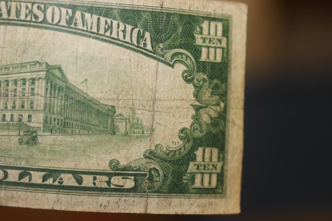 A 1934 Ten Dollar Note - 7