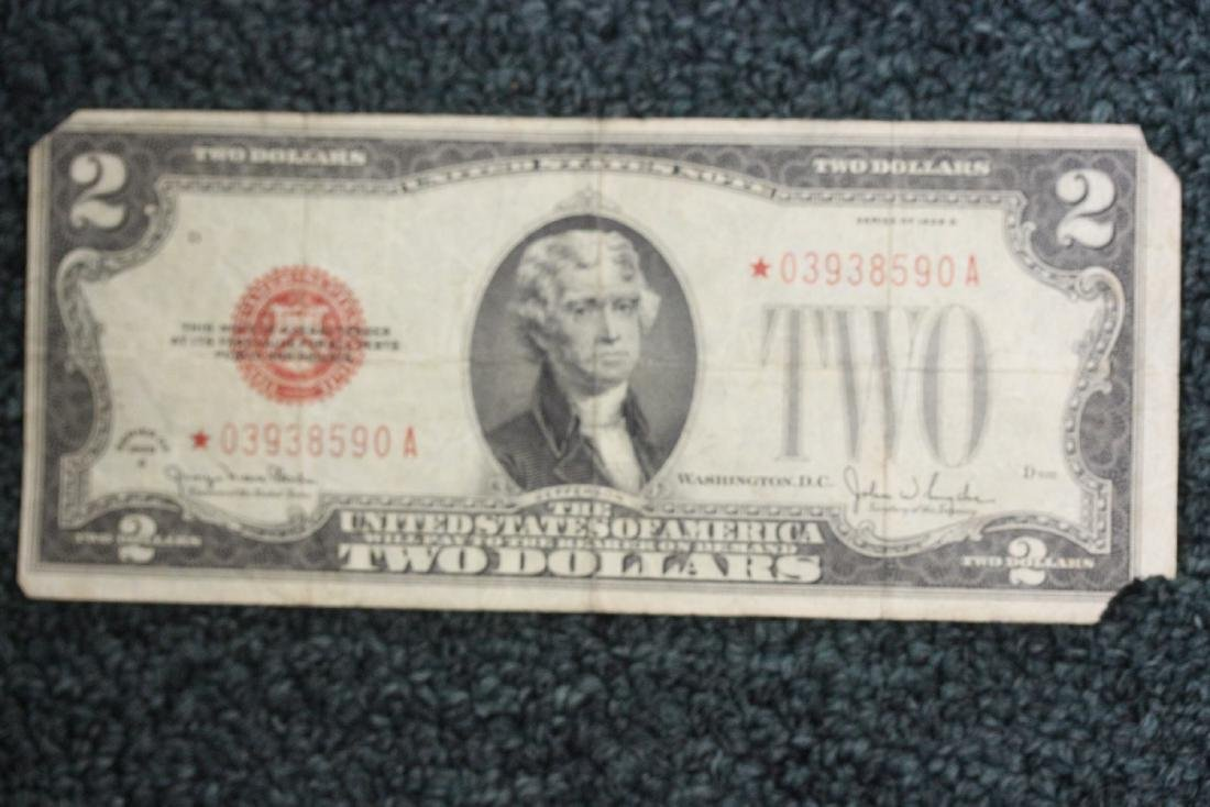 A 1928 Two Dollar Star Note - 8