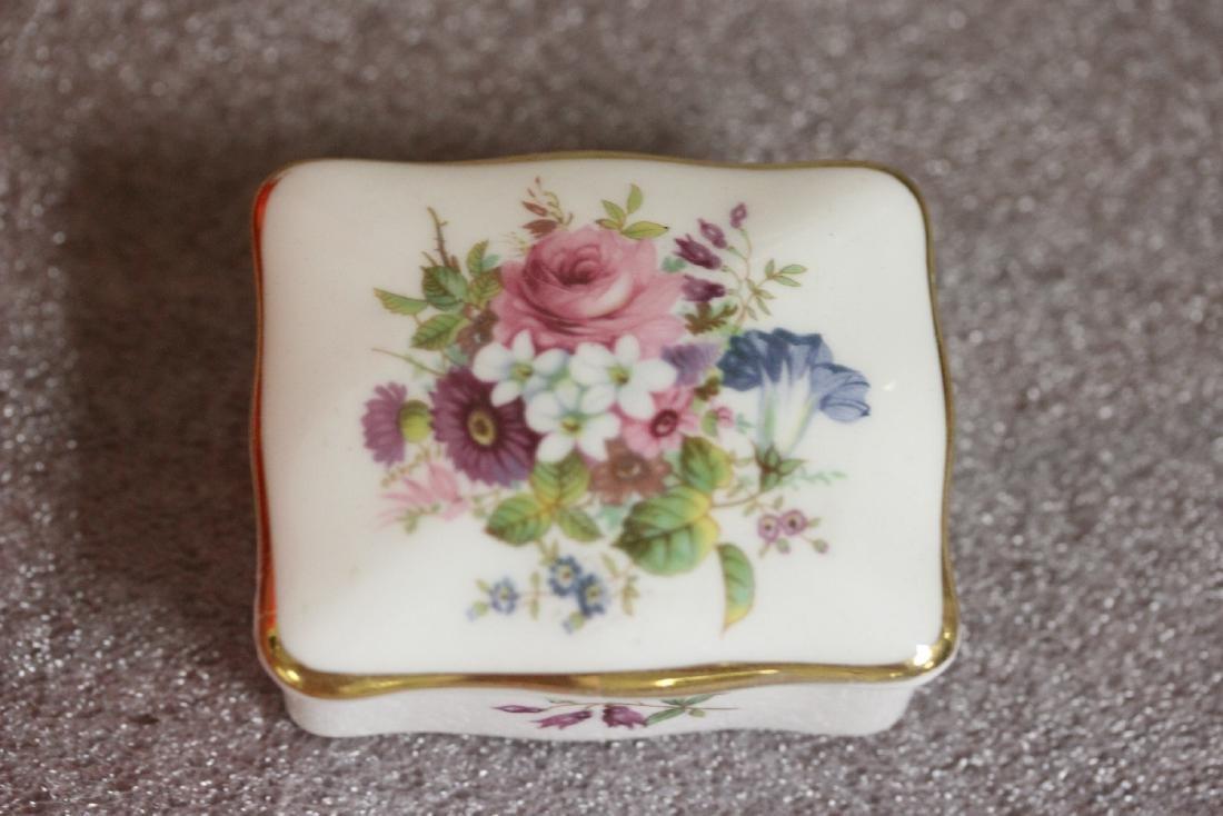 A Bone China Trinket Box