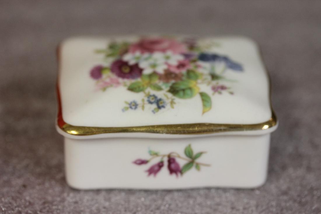 A Bone China Trinket Box - 2