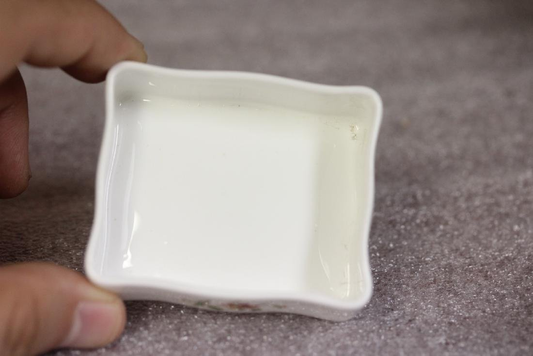 A Bone China Trinket Box - 6