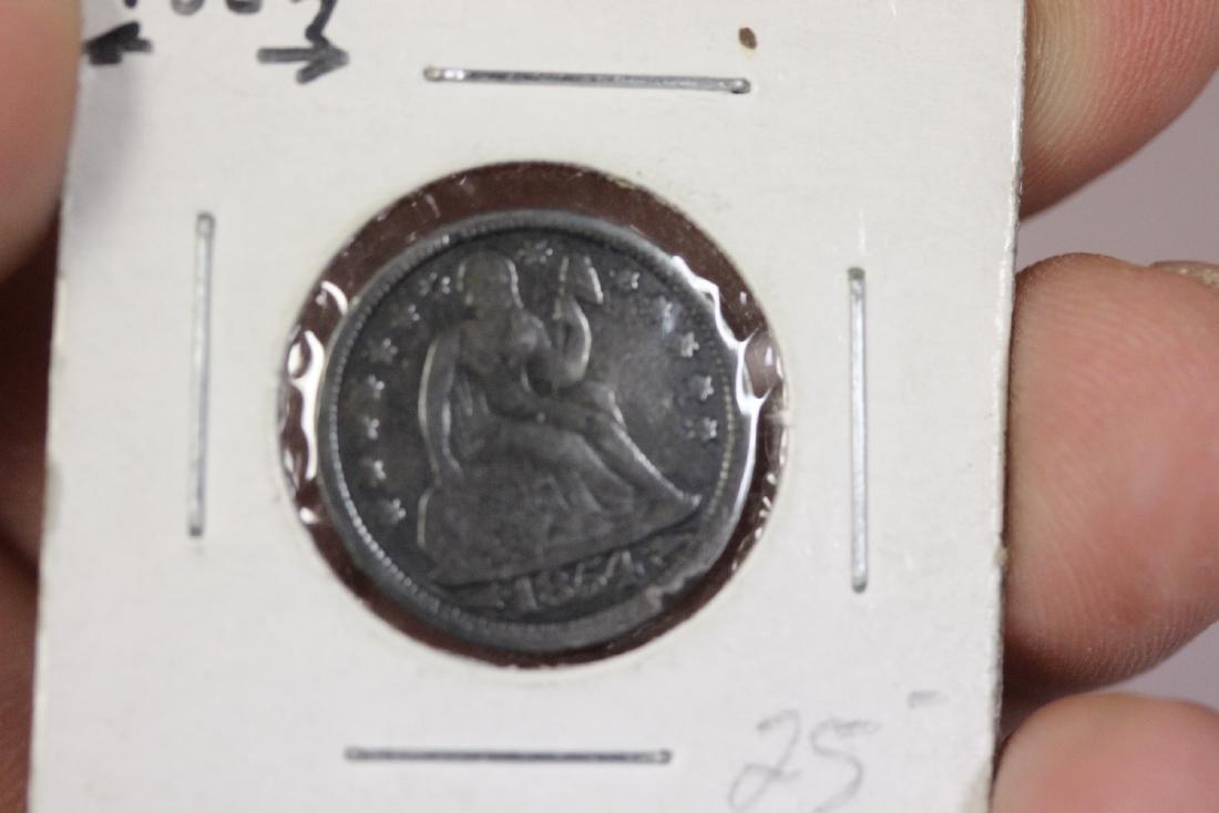 An 1854 Dime