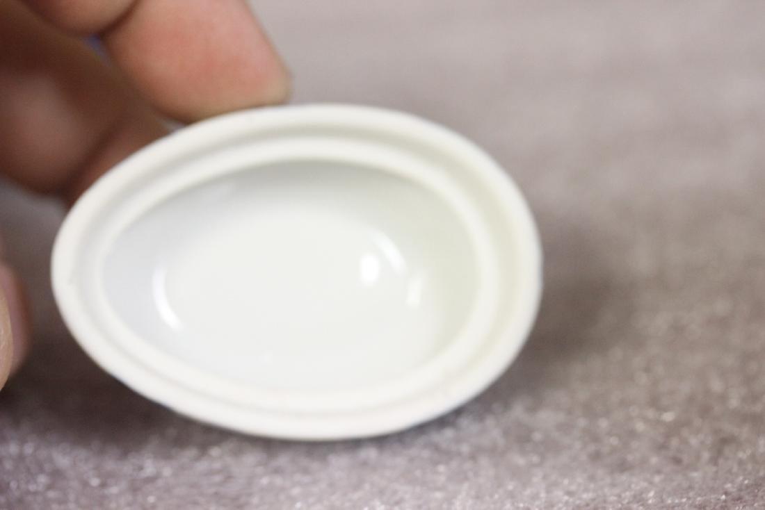 An Egg Shaped Oriental Trinket Box - 8