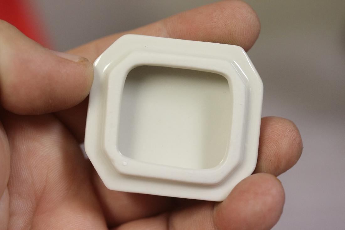 A Porcelain Trinket Box - 5