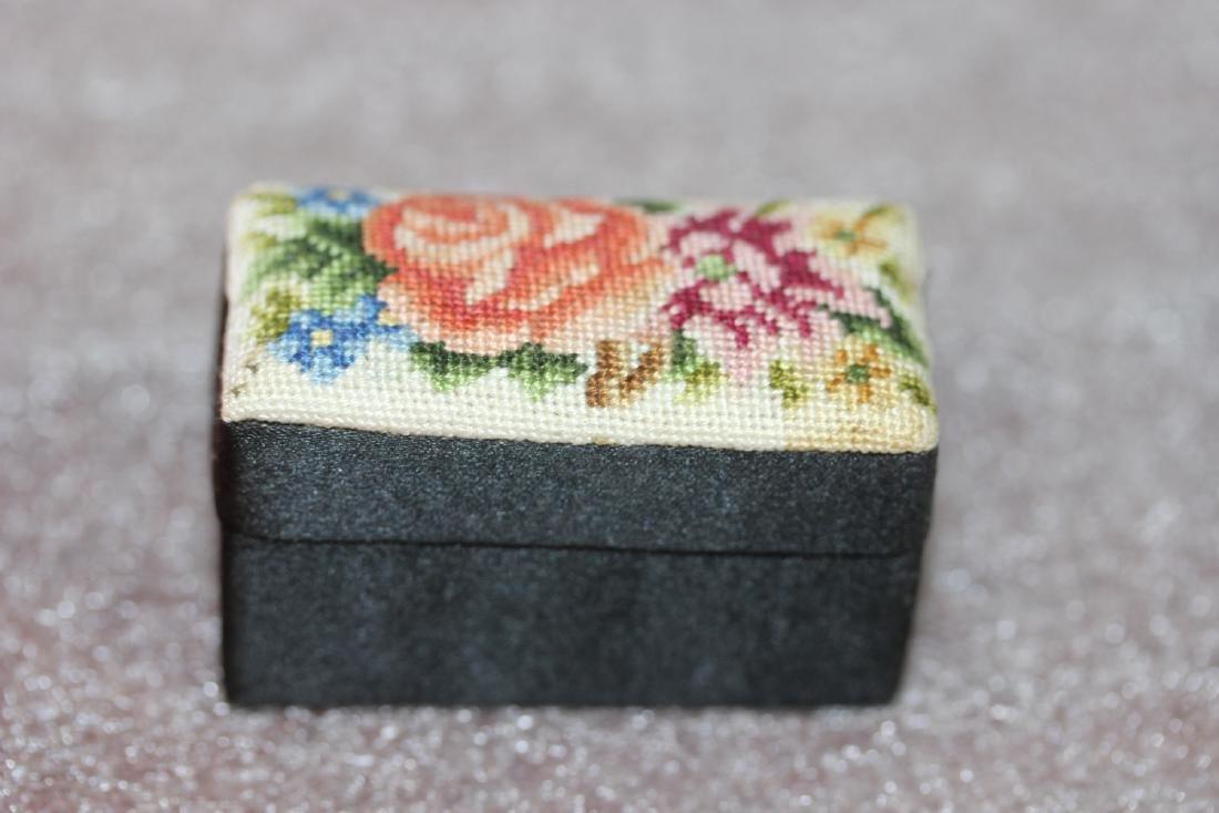 A Cloth Trinket Box