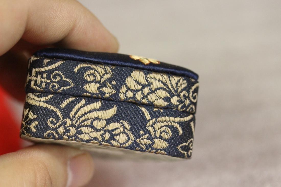 A Cloth Trinket Box - 5