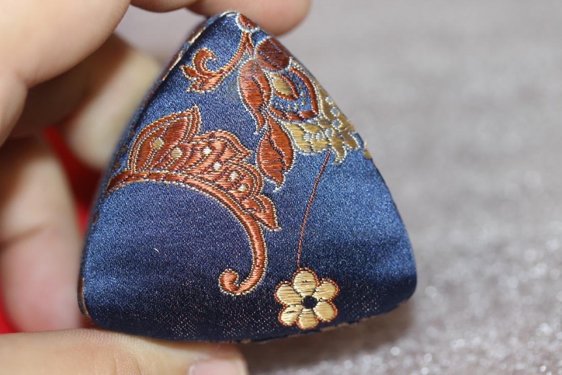 A Cloth Trinket Box - 6